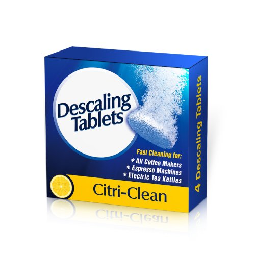 Coffee Maker Cleaner Descaling Tablets 4 Fast Action